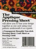Applique pressing sheet_