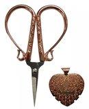 Rose Goud 4in Embroidery Schaar en Garensnijder Set_