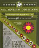 Fat Robin Mariners Compass Ruler and Book Set_