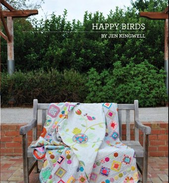 Happy Birds - Jen Kingwell