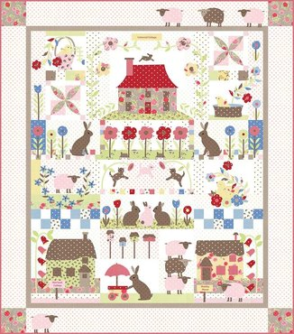 Cottontail cottage - Bunny Hill Design