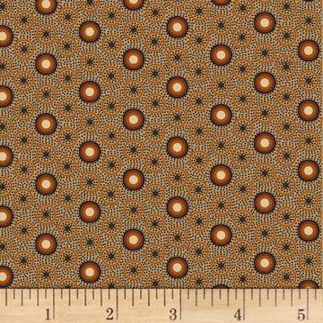Scrappier Dots Calico Dot Brown