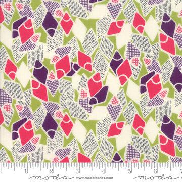 Looking Forward Pesto Flip Flops by Jen Kingwell for Moda 18143-13