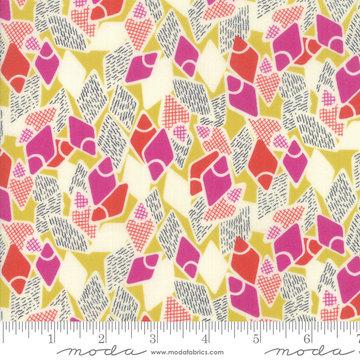 Looking Forward Maize Flip Flops by Jen Kingwell for Moda 18143-14