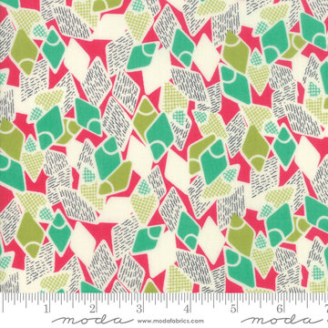 Looking Forward Azalea Flip Flops by Jen Kingwell for Moda 18143-16
