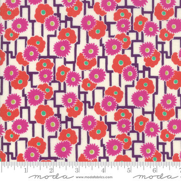 Looking Forward Azalea Rockpool by Jen Kingwell for Moda 18144-11