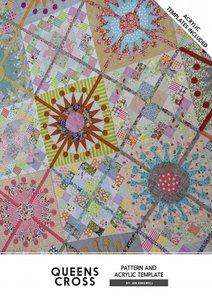 Queens cross templates by Jen Kingwell