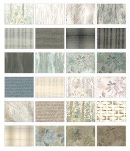 Silver/Grey/Beige Centenary Collection Yoko Saito 2-1/2in Strips