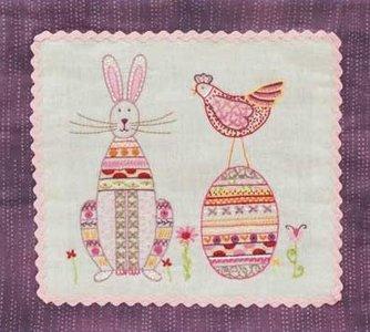 voorjaars stitchery deel 3