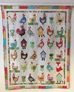 Hen House quilt